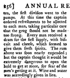 The annual register, or, a view of the history, politics, and literature for the year 1790. London, 1793, Seite 256.