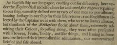 Thomas Herbert: A relation of some yeares travaile, begunne anno 1626. London, 1634, Seite 6.