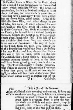 William Dampier: A new voyage round the world. London, 1697, Seite 293-294.